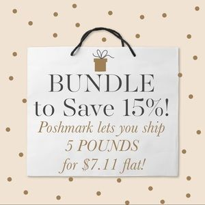 Bundle to SAVE $$$!!!